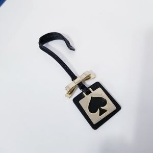 Kate Spade Hangtag Purse Charm Keychain